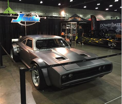 vin diesels dodge charger  fast  sounds wicked