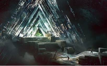 Destiny Vault Glass Fantasy Wallpapers Background Desktop