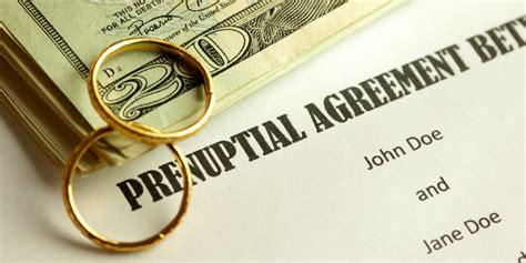 prenuptial agreements agreement choi caroline huffpost