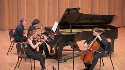 Mendelssohn Piano Trio Op. 49 D Minor I. Molto Allegro