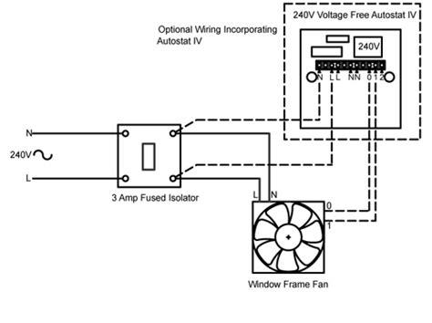 wff 240v wiring rhl ventilation bathroom and kitchen