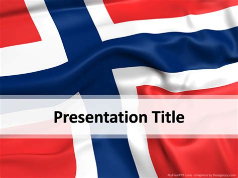 norway powerpoint template   powerpoint