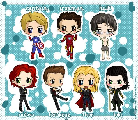 images  chibi superheros  pinterest