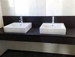 Plan De Travail Salle De Bain : salles de bain en marbre pierre et granit page 1 3 ~ Dailycaller-alerts.com Idées de Décoration