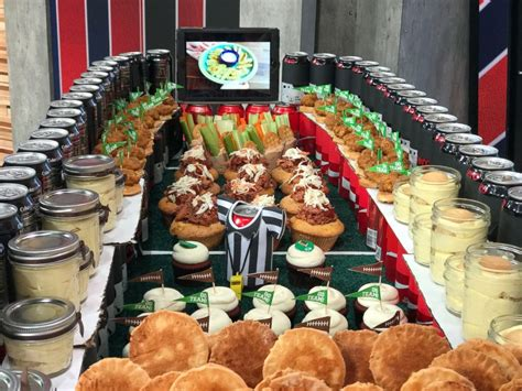 superbowl snacks how to make a super bowl snack stadium abc news
