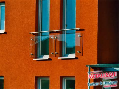 Sicherheitsglas Für Balkon by Metallbau Treiber Hausner Franz 246 Sische Balkone