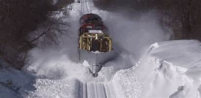 Train Winter Weather Sn Event Station Hype