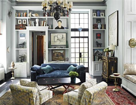 An Eclectic Formal Living Room