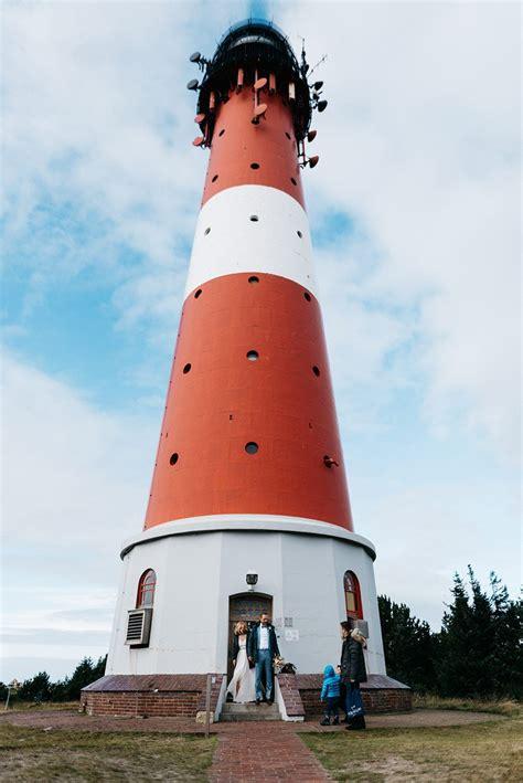eine intime hochzeit im leuchtturm hoernum auf sylt