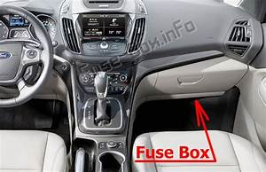 Fuse Box Diagram  U0026gt  Ford Escape  2013