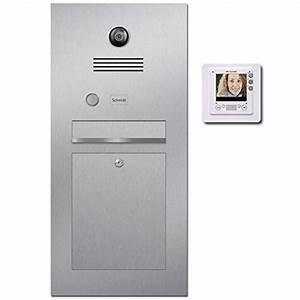 Edelstahl Video Türsprechanlage : briefkasten mit video preisvergleiche erfahrungsberichte und kauf bei nextag ~ Sanjose-hotels-ca.com Haus und Dekorationen