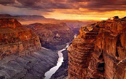 Canyon Grand Sunset Resolution Road Longwallpapers Nice