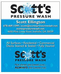 Pin by anislsndgem on business ideas pinterest for Power wash business cards