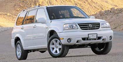 2001 Suzuki Xl 7 by 2001 Suzuki Xl 7 Suv 2001 Suzuki Review Motor Trend