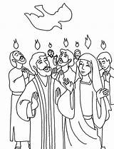 Pentecost Coloring Praise Everyone Pages Holy Spirit Print Printable Sunday Activities Getdrawings Crafts Tags sketch template