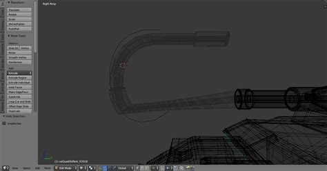 Curve Fix by Modeling How Can I Best Bend Curve A Mesh Or Fix This