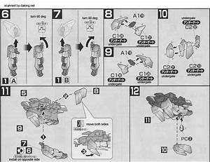 Hg Delta Gundam English Manual  U0026 Color Guide
