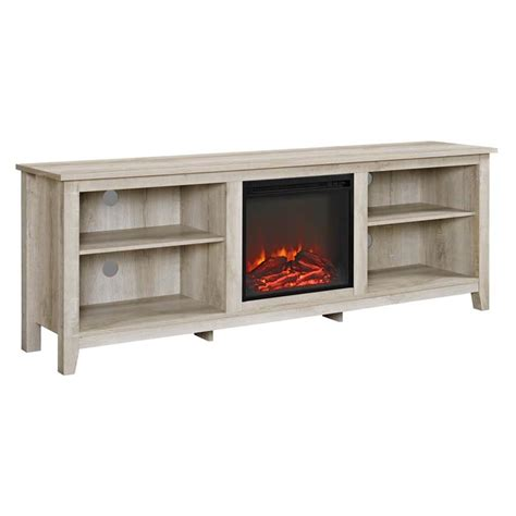 electric fireplace tv stand 70 inch walker edison 70 inch tv stand with electric fireplace 9644