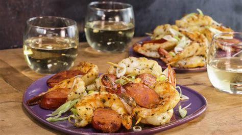 shrimp  chorizo bites rachael ray show