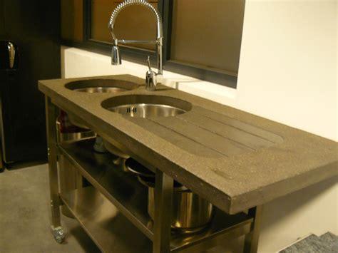 fabriquer un plan de travail pour cuisine fabriquer meuble salle de bain avec plan de travail