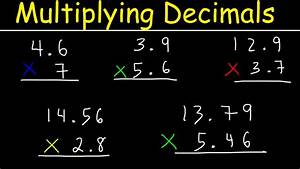Multiplying Decimals Made Easy