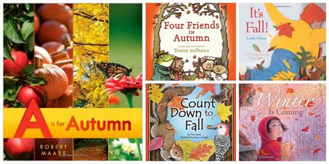 Favorite Children's Books About Fall Sturdy For Common