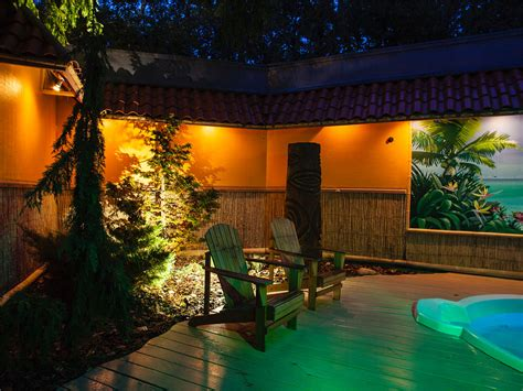 outdoor lighting portfolio of landscape design throughout michigan treasured earth