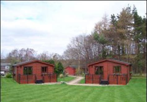 Holiday Lodge Park In Borders, Scotland