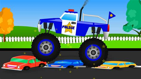 monster truck stunt monster truck stunt monster truck videos for kids