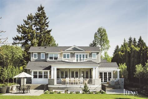 shingle style home ideas photo gallery traditional shingle style rear exterior luxesource