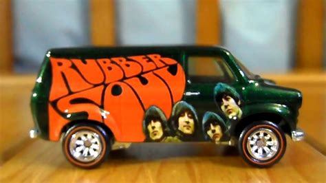 New Beatlesthemed Hot Wheels Toys Feature Designs Based