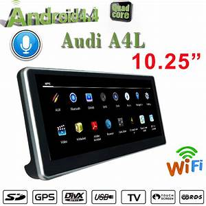 China Android 9 0 Car Audio 10 25 U0026quot  For Audi A4 B9  2015