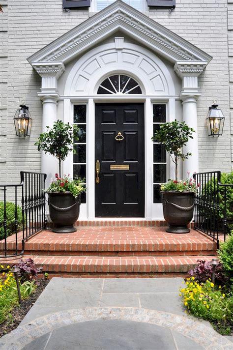 52 marvelous traditional front door design ideas