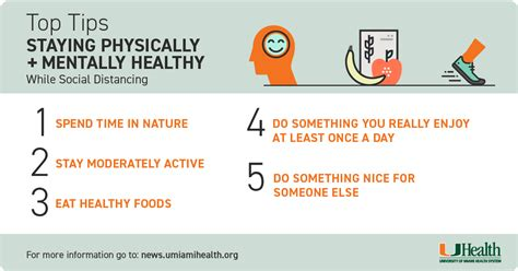 Tips for Staying Healthy While Social Distancing Health