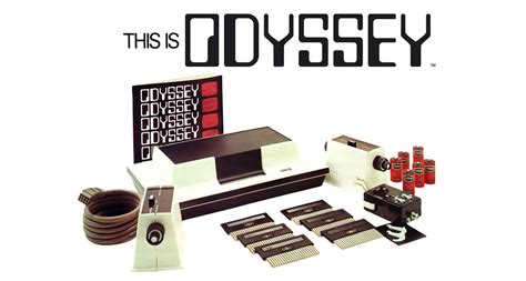 Magnavox Odyssey game console, logo, packaging - Fonts In Use