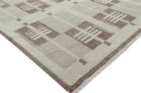 Swedish Design Flat Weave Rug N11490 By Doris Leslie Blau