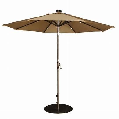 Patio Umbrella Crank Ft Brown Umbrellas Outdoor