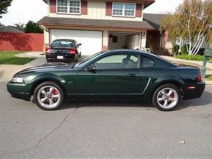 4th generation green 2001 Ford Mustang GT Bullitt For Sale - MustangCarPlace