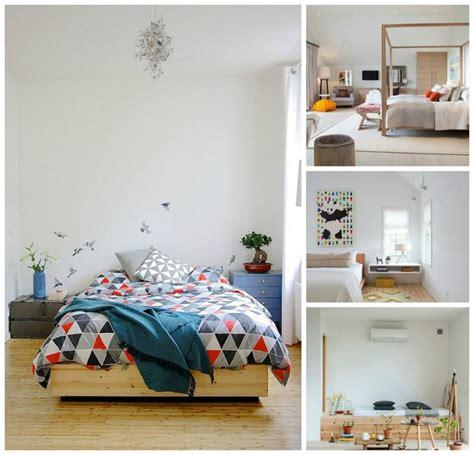 chambre design scandinave décoration scandinave pour chambre à coucher moderne