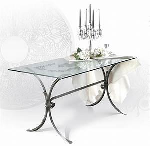 Tavolo da interni GIOTTO tavoli ferro battuto