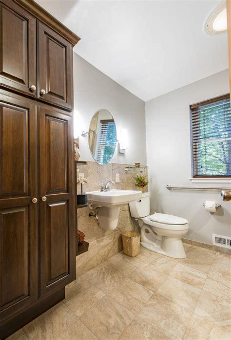 wheelchair accessible bathroom remodel excel remodeling