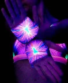 1000 images about rave UV blacklight glow clothes on