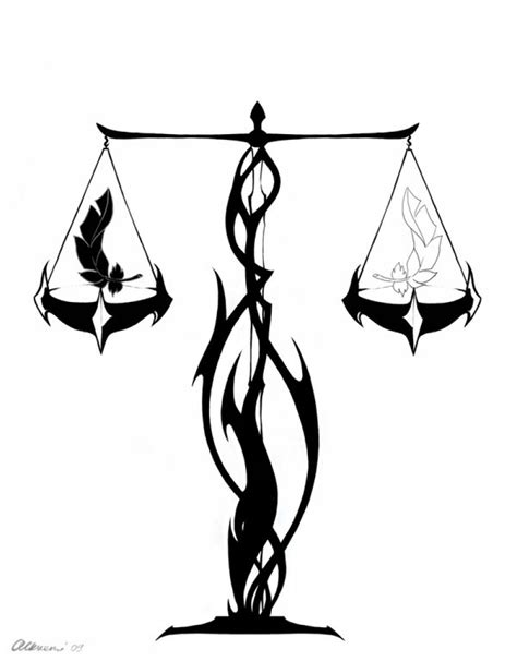 Libra Tattoos and Designs  Page 47