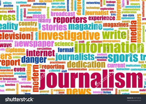 Journalism Career by Journalism Career Newspaper Report As A Concept Stock