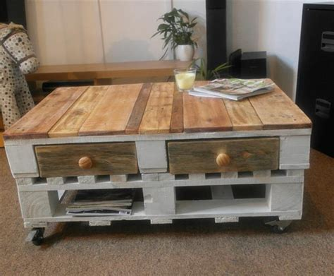 diy shabby chic pallet coffee table pallet furniture plans