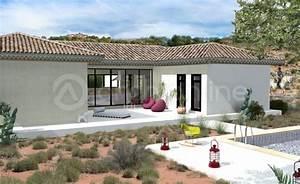 impressionnant plan maison toit plat 120m2 10 pin de With maison en forme de u