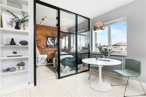 Small Scandinavian Apartment Open Airy Design by Otvoreno Uređenje Malog Skandinavskog Stana Mojstan Net