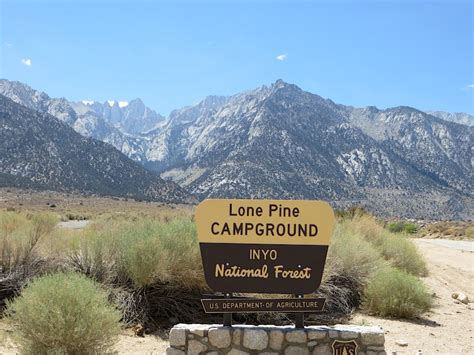 Lone Pine Campground Group Recreation