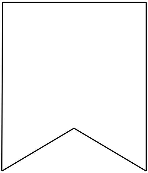blank banner template printable banner template uma printable