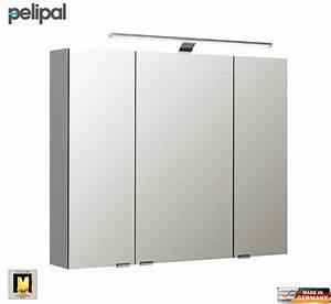 Spiegelschrank Bad 90 Cm : pelipal neutraler spiegelschrank s5 90 cm mit led aufbauleuchte impulsbad ~ Bigdaddyawards.com Haus und Dekorationen